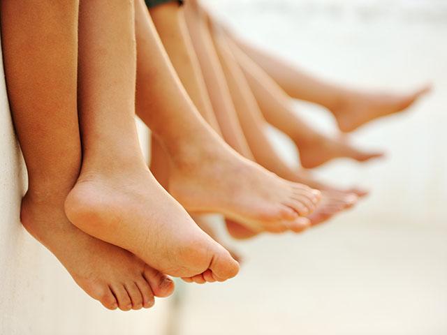 pediatric feet